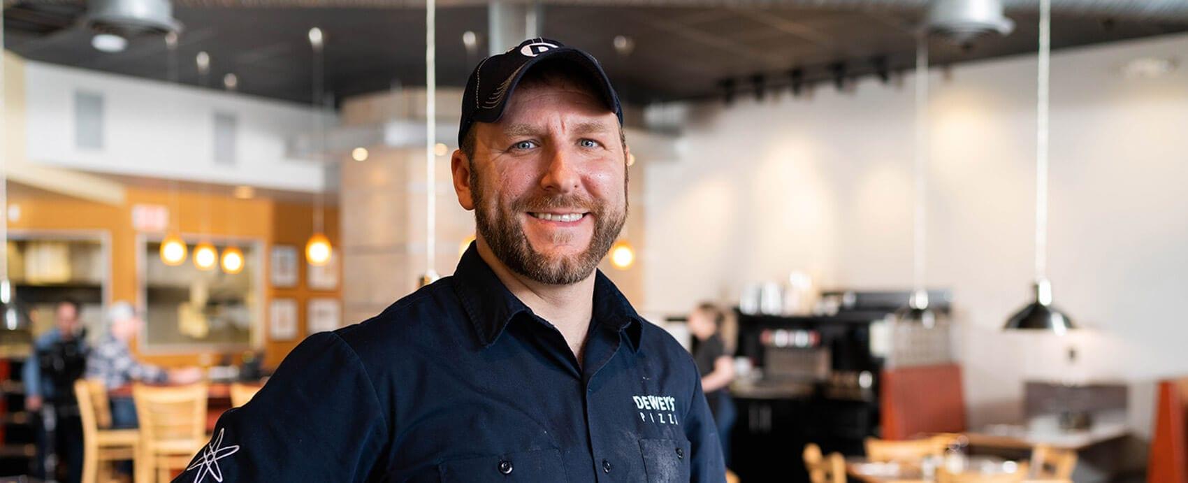 Ryan Laker - Dewey's Pizza Kitchen Innovation